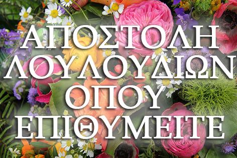 Εντυπωσιάστε τον φίλο σας με τις καλύτερες επιλογές για λουλούδια και ανθοσυνθέσεις από το ανθοπωλείο FlowerDesign