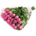20 τεμάχια Ολόφρεσκα Ροζ Τριαντάφυλλα σε Ανθοδέσμη - ΤΡΙ 07291