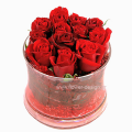 Τριαντάφυλλα και Τροπικά Φυλλώματα - GLASS 18029
