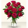Τριαντάφυλλα με Τροπικά Φυλλώματα BΟU 01821