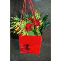 Τριαντάφυλλα και Τροπικά Φυλλώματα - BOU 0137