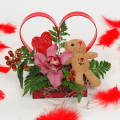 Orchis and Bear-toys in the hart - VAL 11001