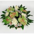 Καλάθι με Ανθούρια, Μπράσικες και Ορχιδέες - BASK 23007