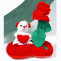 Bear-toy on a heart - PLUSH 26002