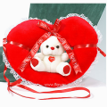 Bear-toy inside a heart - PLUSH 26009