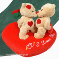 Bear-toys on a heart - PLUSH 26003