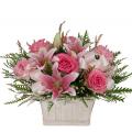 Μιξ Λουλούδια σε Καλάθι - ARR 12019