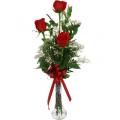 Roses in a vase  - ROSE 42006
