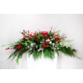 Christmas composition with orhids,red ilex and tropical foliage - ΧΡΙ 021022