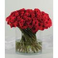 40 Κόκκινα Τριαντάφυλλα σε Βάζο