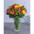 Mix Flowers in Vase