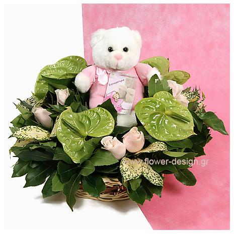 Anthurium and Roses - BAPT 14007