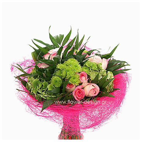 Bouguet with Mix flowers - - BOU 090