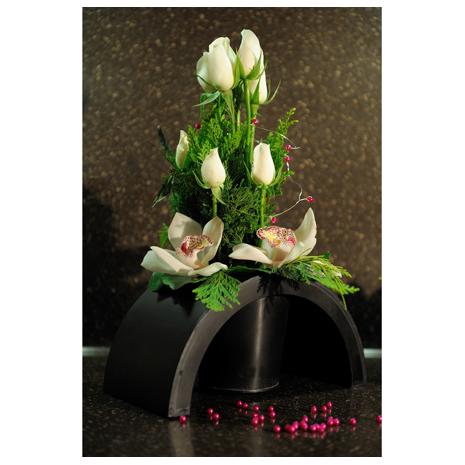 Τριανταφυλλα, Άγριες Ορχιδέες και Τροπικά Φυλλώματα - ΑΝΤ 12005