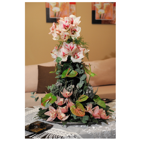 SPECIAL floral arrangement with flowers for all tastes - ARR 12003