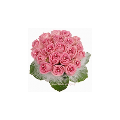 Roses and Leaves - ROSE 42021