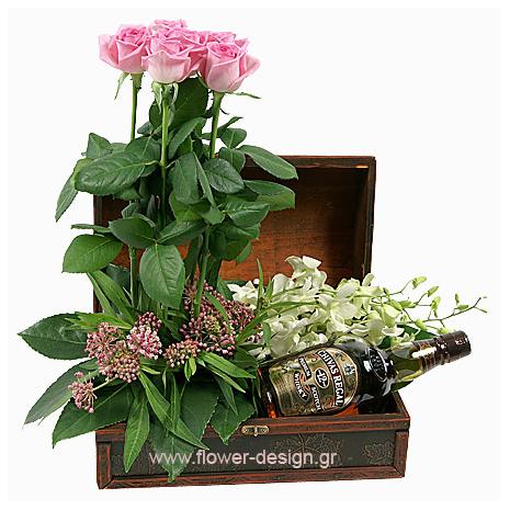 Ορχιδέες και Τριαντάφυλλα - BUSIN 21019