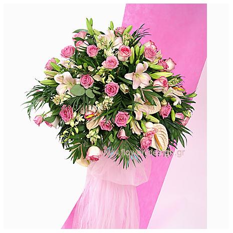 Ανθούρια, Ορχιδέες και Τριαντάφυλλα - GAM00152