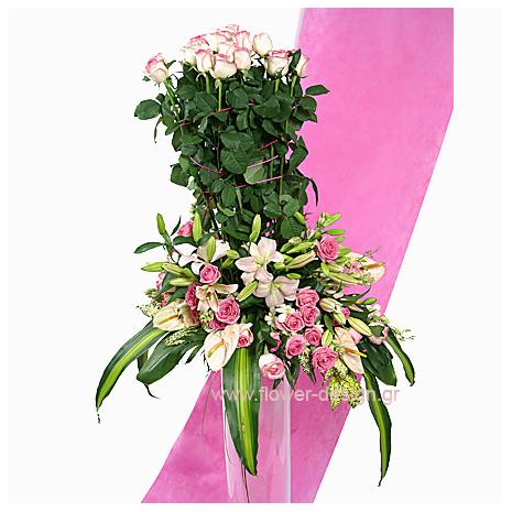 Λίλιουμ, Τριαντάφυλλα, Ανθούρια και Ορχιδέες - GAM00156
