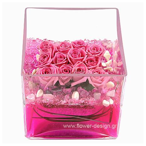 Τριαντάφυλλα και Γκρας - MOM 17012