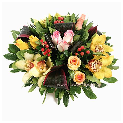 Ορχιδέες, Τριαντάφυλλα, Υπέρικουμ και Τροπικά - BASK 23021