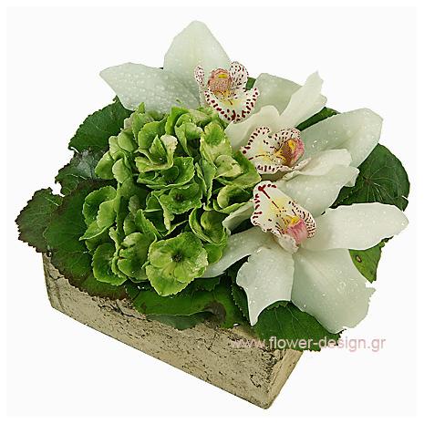 Wild Roses and Hydrangea - CERAM 33001