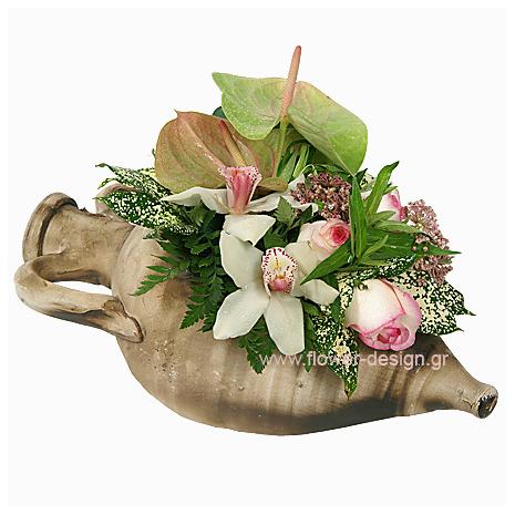 Ανθούρια, Ορχιδέες και Τριαντάφυλλα - ENG 13010