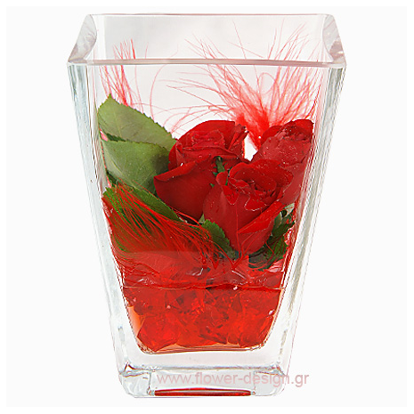 Red Roses and Feathers - VAL 11033