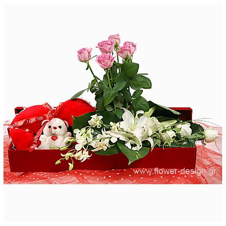 Καζαμπλάνκες, Ορχιδέες και Τριαντάφυλλα - VAL 11015