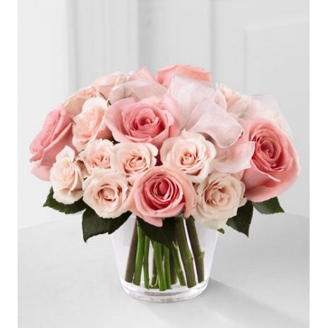 Τριαντάφυλλα σε Βάζο - GLASS 18034