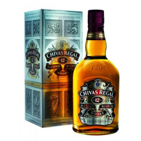 Scotch Whiskey Chivas Regal 12 yrs - BOT 34004