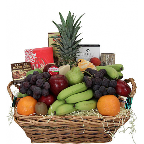 fruit basket and chocolates - BEV 40013