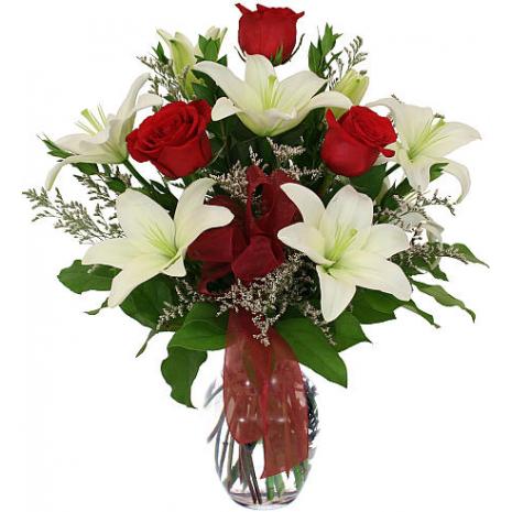 Μπουκέτο με Μίξ Λουλούδια - BOU 0183