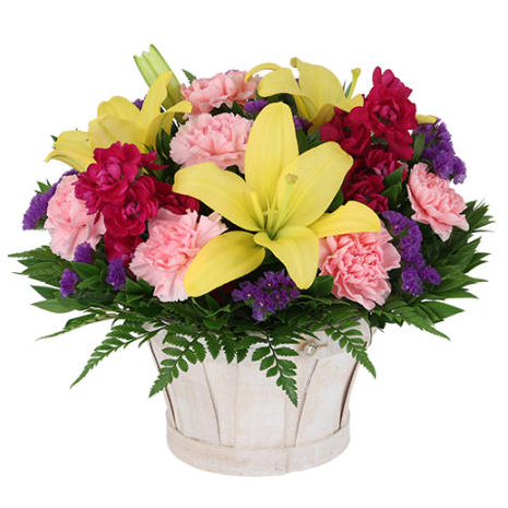 Mix flowers in a vase - ANT 0150
