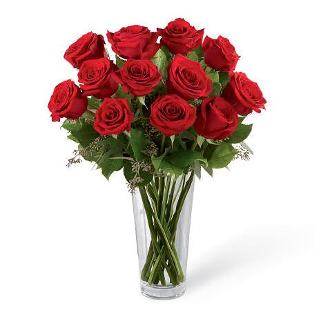 Τριαντάφυλλα σε Βάζο - BOU 086