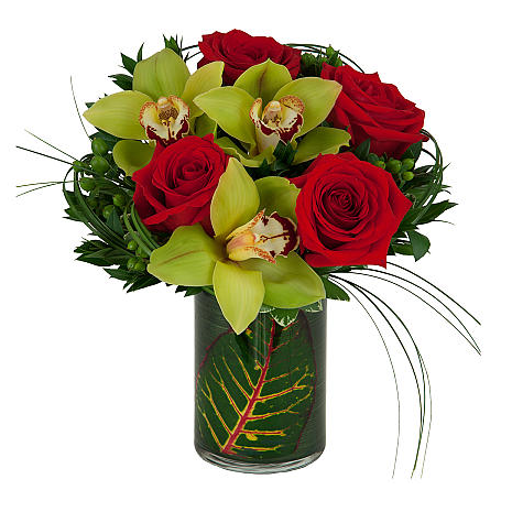 Mix flowers in a glase -  GIA 0254