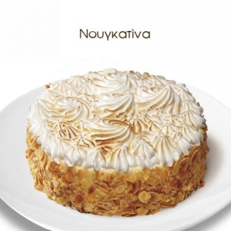 Nougat cake