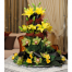 the flower shop proposed  A spesial  Flower Arrangements with Lillis and Orchids - ARR 12002