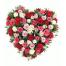 Καρδιά με Τριαντάφυλλα - VAL 01172