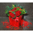 Roses and Tropical Leaves in the box - XMAS 44001