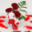 Roses in the cupe and Bear-toys - VAL 11042