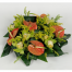 Basket with Anthurium and Orchids - BASK 23006
