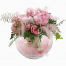 floral arrangement with toys - BIRTH 16001