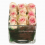 Roses in a glass - BDAY 15008