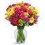 Bouquet  with mix flowers - BOU 089