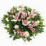 SPECIAL floral arrangement with flowers in a basket - ENG 13007