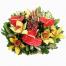 Ανθούρια, Ορχιδέες, Ανανάς και Τροπικά Φυλλώματα - BASK 23022