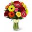 Τριαντάφυλλα και Ζέρμπερες - BOU 0190