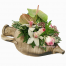 SPECIAL floral arrangement with flowers in base - ENG 13010