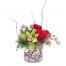Ορχιδέες και Τριαντάφυλλα - GLASS 18014